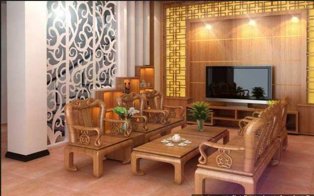 Đồ gỗ nội thất phòng khách-05