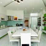 Nội thất phòng ăn nhà bếp
