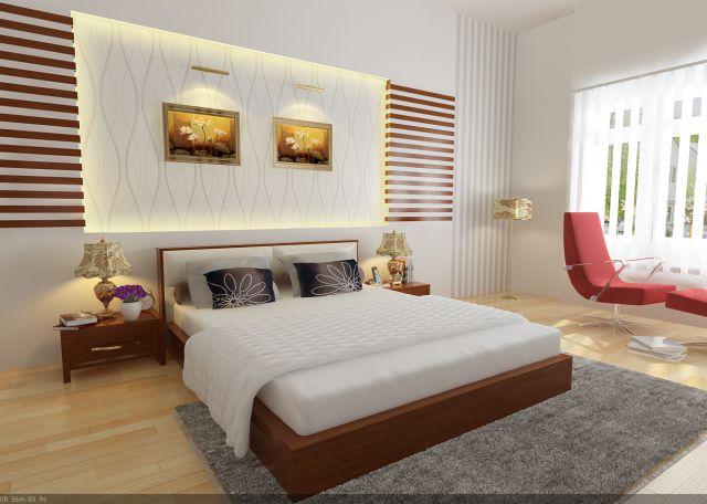 Nội thất phòng ngủ đẹp đơn giản
