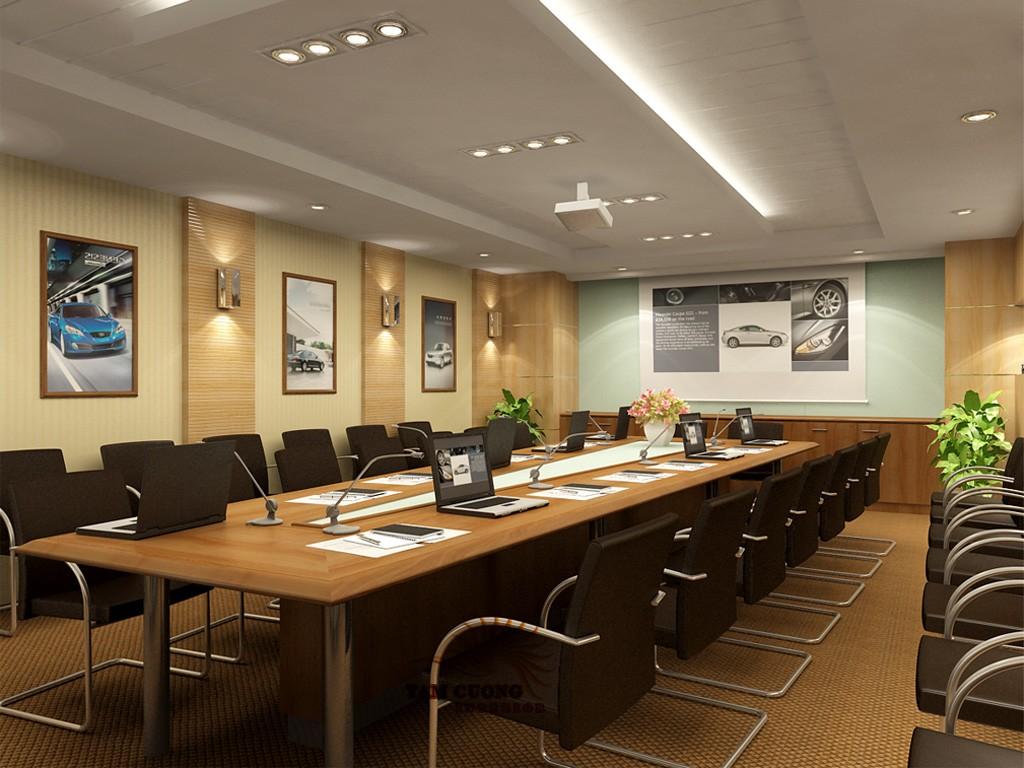 Thiết kế nội thất phòng họp 01