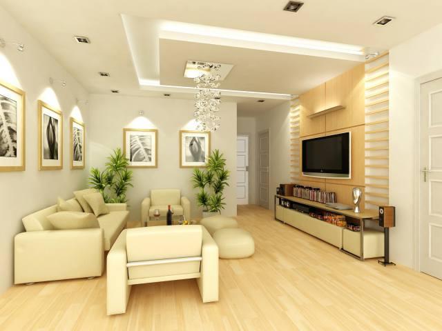 Thiết kế nội thất phòng khách nhỏ-01