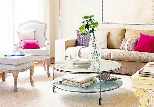 Trang trí nội thất phòng khách nhỏ