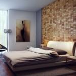 Một số không gian nhà đẹp với tường ốp gỗ nội thất