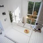 Không gian nội thất với gác xép đẹp