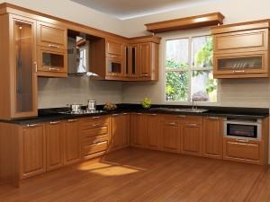 Mẫu nội thất bằng gỗ cho tủ bếp-02