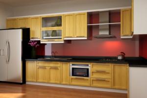 Mẫu nội thất bằng gỗ cho tủ bếp-01