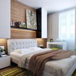 Thiết kế phòng ngủ hiện đại kết hợp màu sắc