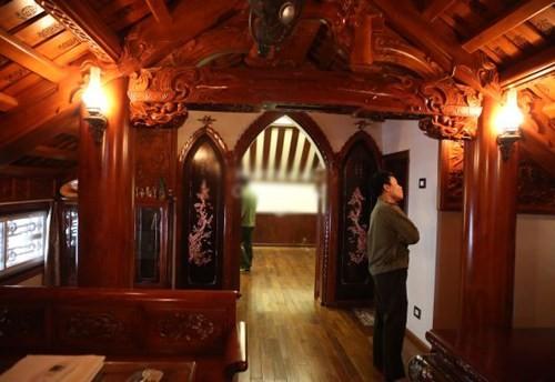 Hình ảnh 2 - Nội thất gỗ độc đáo của biệt thự ở hà nội