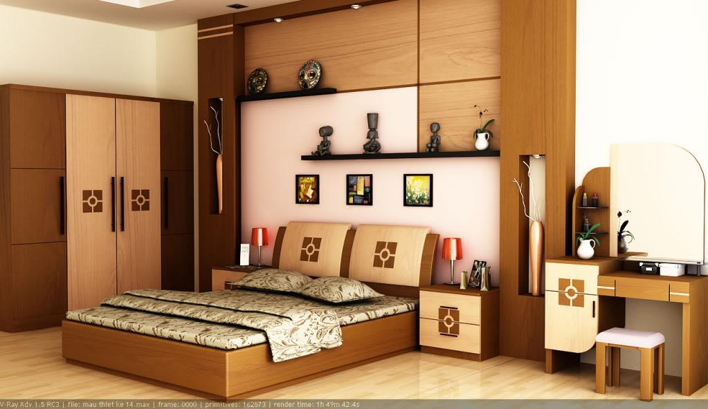 Hình ảnh 1 - Nội thất đồ gỗ đẹp cho phòng ngủ sang trọng