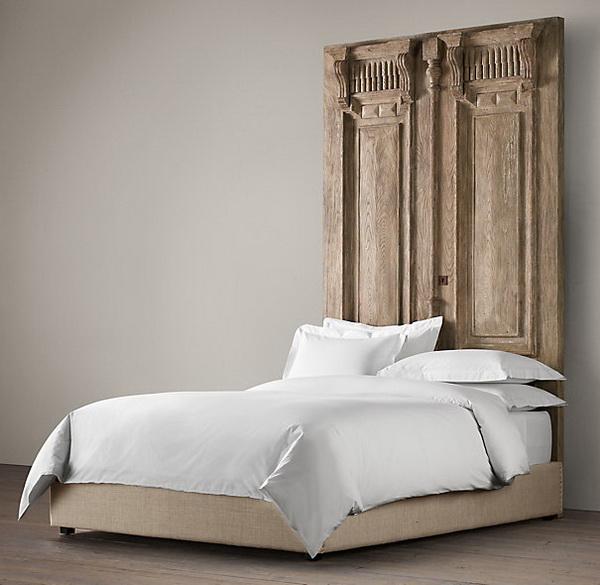 Mẫu thiết kế giường gỗ cổ điển đẹp 1