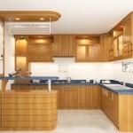 Nội thất gỗ tủ bếp đẹp khang trang