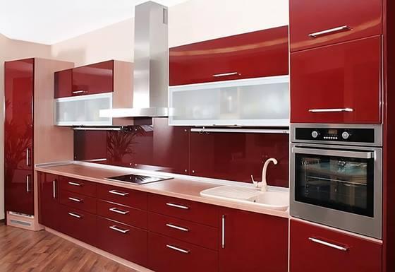 Mẫu 3 - Nội thất gỗ tủ bếp đẹp khang trang