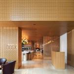 Nội thất nhà hàng ấn tượng với gỗ sồi