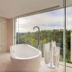 Nội thất nhà tắm đẹp với gỗ