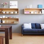Thiết kế kệ gỗ hộp treo tường