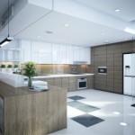 Những thiết kế nội thất bếp hiện đại và tiện nghi