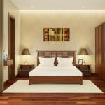 Nội thất gỗ cho phòng ngủ ấm cúng