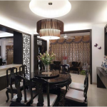 Thiết kế nội thất gỗ phòng ăn đẹp