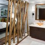Nhà đẹp sinh động với nội thất đồ gỗ kết hợp cùng tre