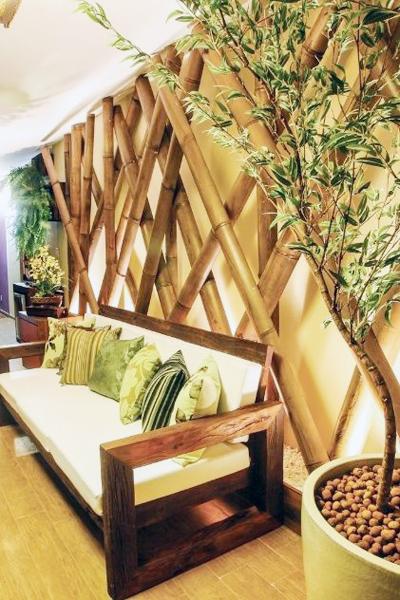 Mẫu thiết kế nhà đẹp sinh động với nội thất đồ gỗ kết hợp cùng tre 1