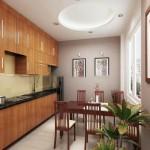 Nội thất đồ gỗ đẹp cho phòng bếp ấn tượng