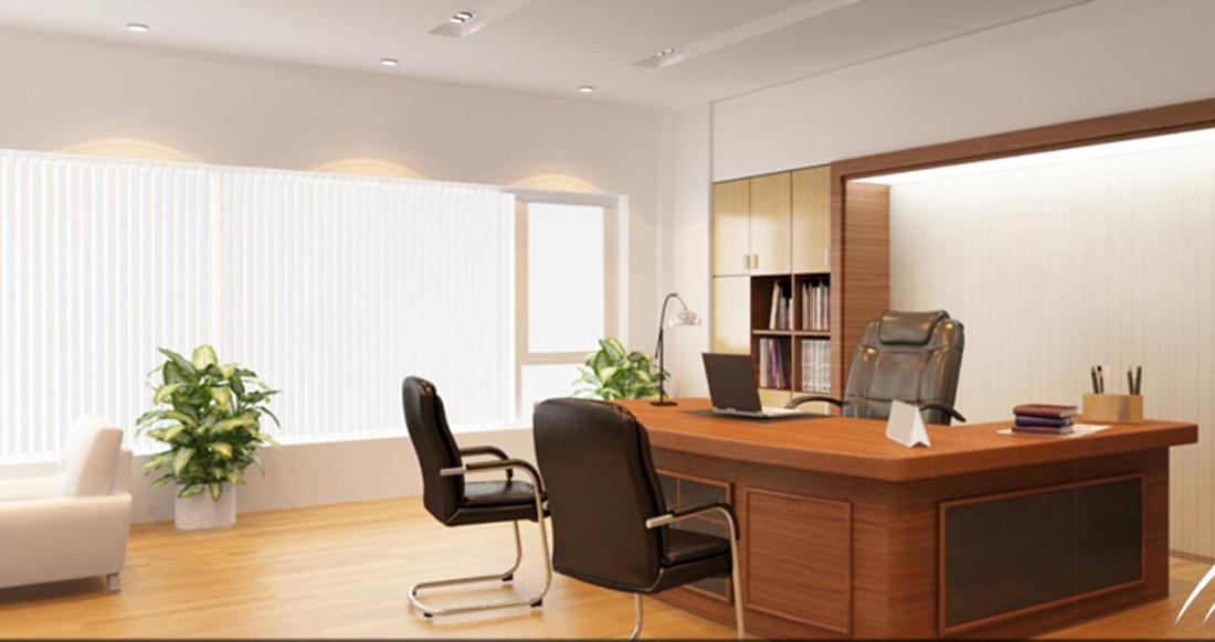 Nội thất gỗ đẹp cho văn phòng công ty. 1