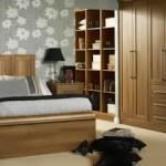 Thiết kế nội thất gỗ cho tủ âm quần áo
