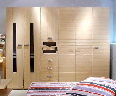 Thiết kế nội thất gỗ cho tủ âm quần áo. 2