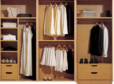 Thiết kế nội thất gỗ cho tủ âm quần áo. 3