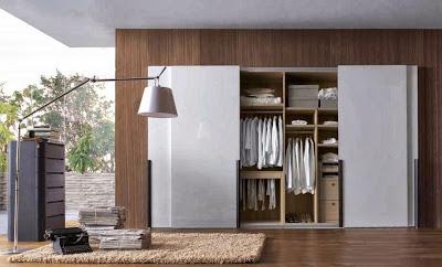 Thiết kế nội thất gỗ cho tủ âm quần áo. 4