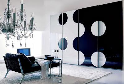 Thiết kế nội thất gỗ cho tủ âm quần áo. 1