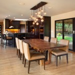 Nội thất đồ gỗ đẹp cho phòng ăn làm từ gỗ óc chó