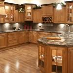 Nội thất đồ gỗ đẹp cho phòng bếp ấm cúng