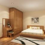 Nội thất gỗ cho phòng ngủ sang trọng