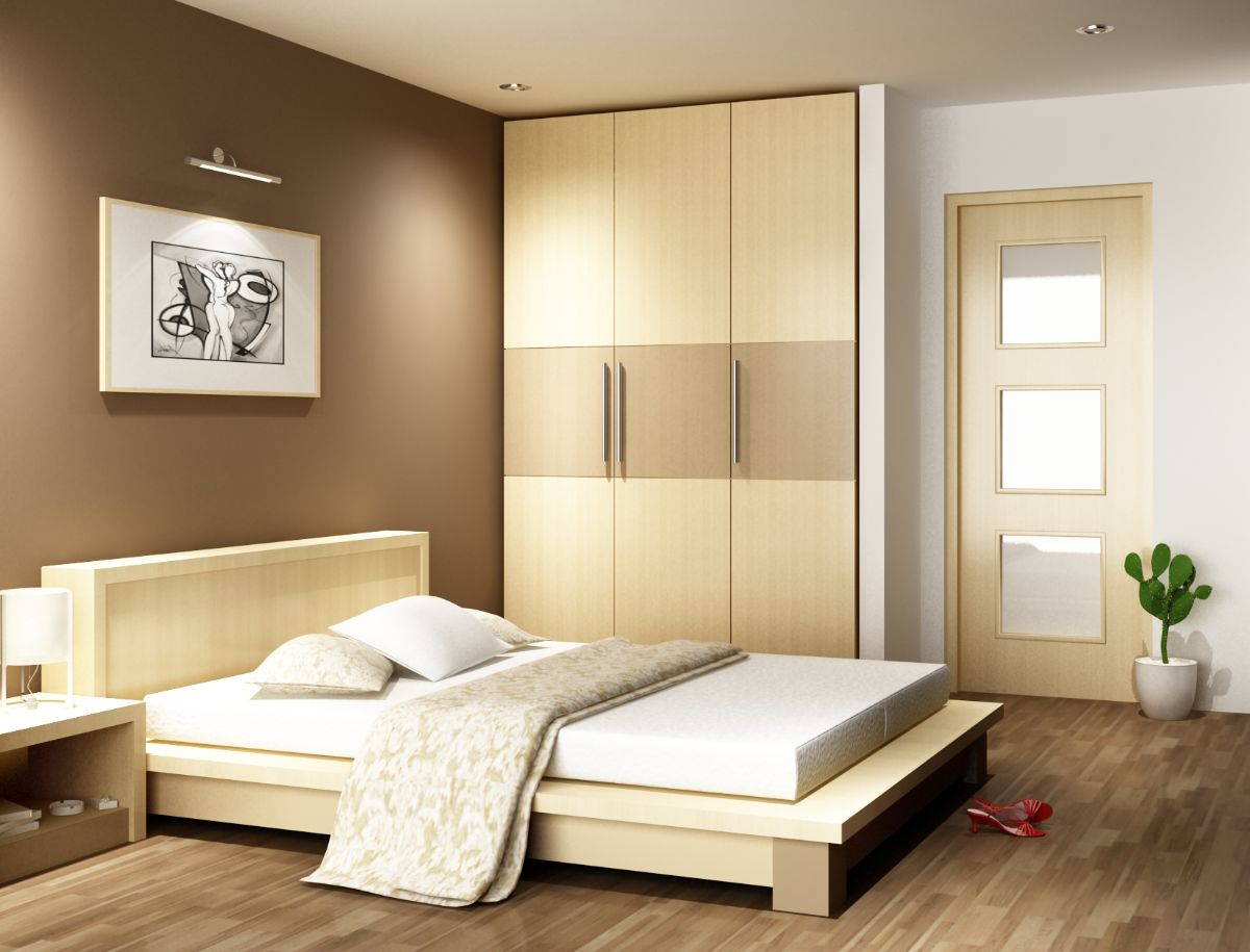 Nội thất gỗ cho phòng ngủ sang trọng. 3