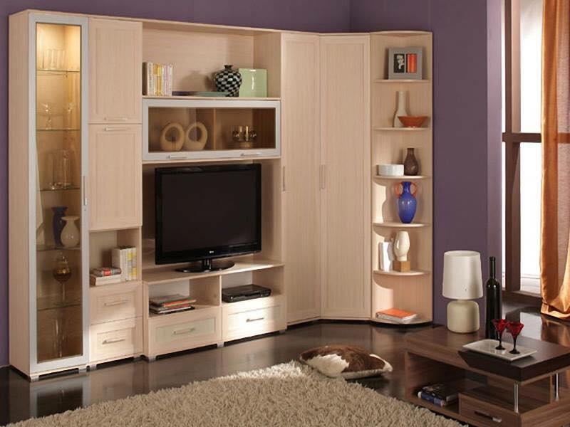 Thi công gỗ nội thất cho tủ tivi phòng khách. 1