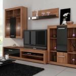 Thi công gỗ nội thất cho tủ tivi phòng khách