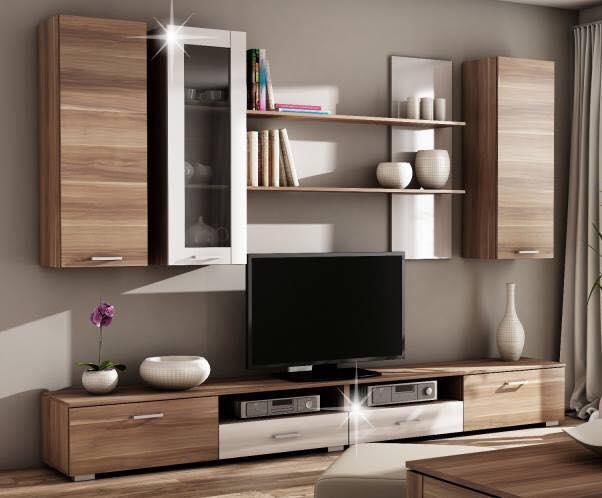 Thi công gỗ nội thất cho tủ tivi phòng khách. 2