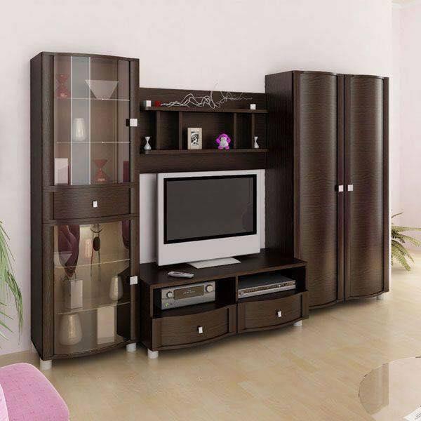 Thi công gỗ nội thất cho tủ tivi phòng khách. 5