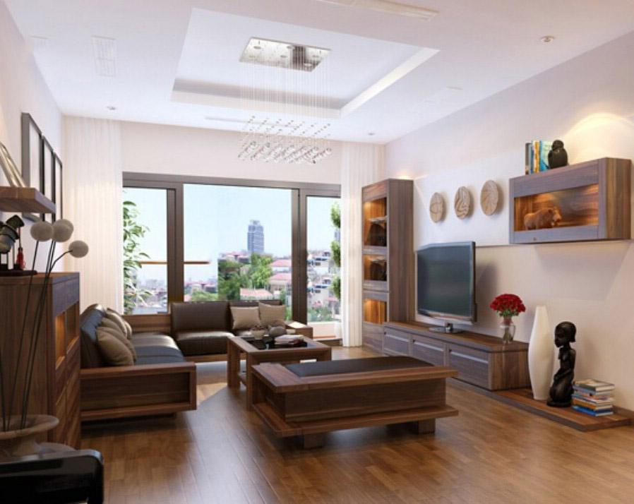 Nội thất đồ gỗ đẹp cho chung cư hiện đại. 3