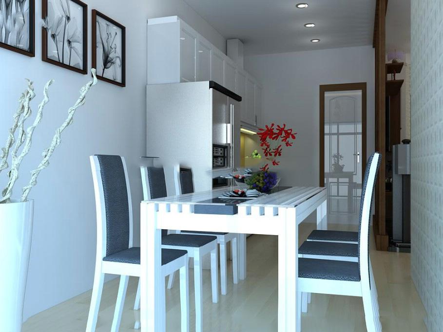 Nội thất đồ gỗ đẹp cho chung cư hiện đại. 4