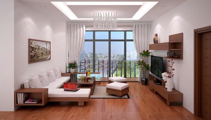 Nội thất đồ gỗ đẹp cho chung cư hiện đại. 1