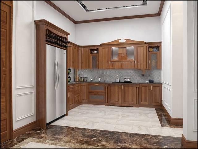 Nội thất gỗ cho biệt thự đẳng cấp. 1