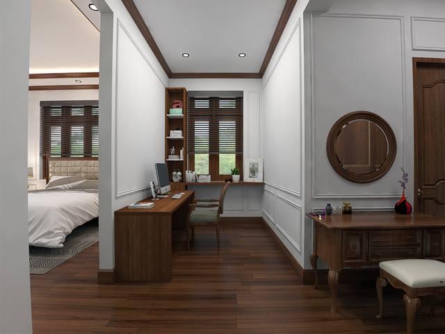 Nội thất gỗ cho biệt thự đẳng cấp. 3
