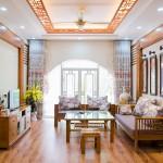 Một số không gian nội thất gỗ nhà đẹp cách tân