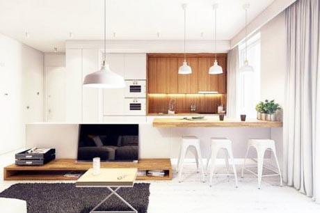 Đồ gỗ nội thất đẹp cho khu bếp ăn- Ảnh 02