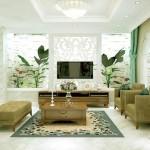 Không gian nhà đẹp với nội thất gỗ sang trọng