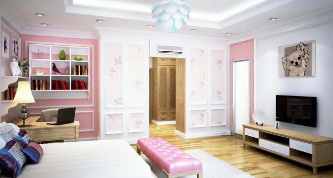Không gian nhà đẹp với nội thất gỗ sang trọng - Ảnh 05