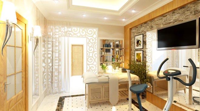 Không gian nhà đẹp với nội thất gỗ sang trọng - Ảnh 06