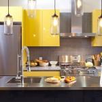 Mẫu thiết kế nội thất gỗ tủ bếp Laminate